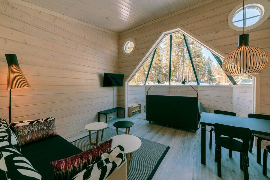Eco-Friendly Glass Igloos in Finland