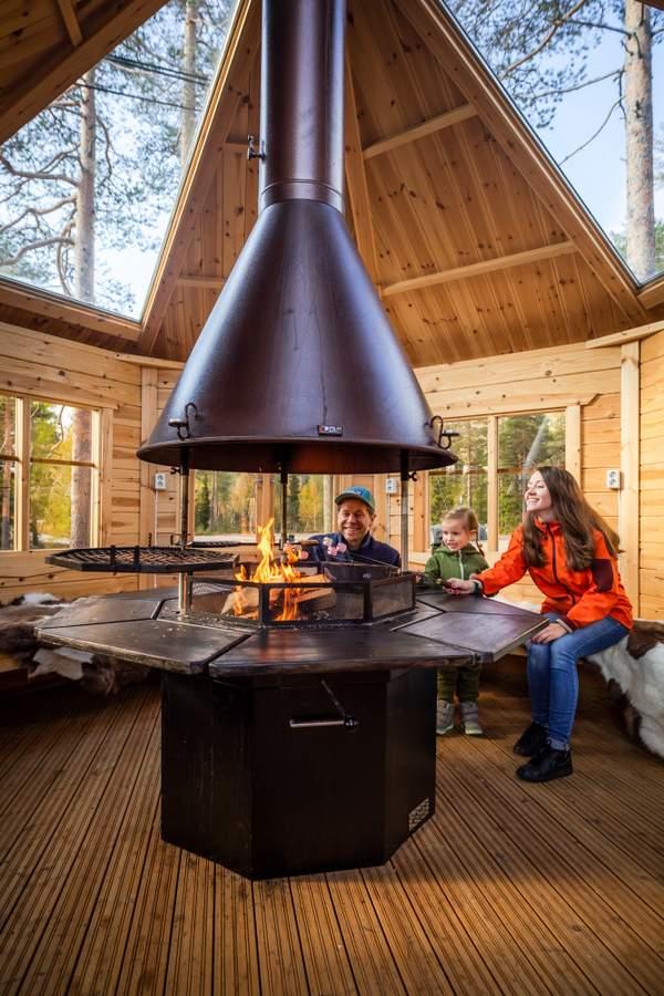 Book a Arctic barbeque hut a.k.a Kota